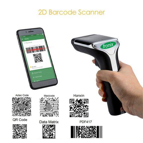 Fronix 2 4G Wireless 1D Scanner QR Code/Data Matrix / PDF417